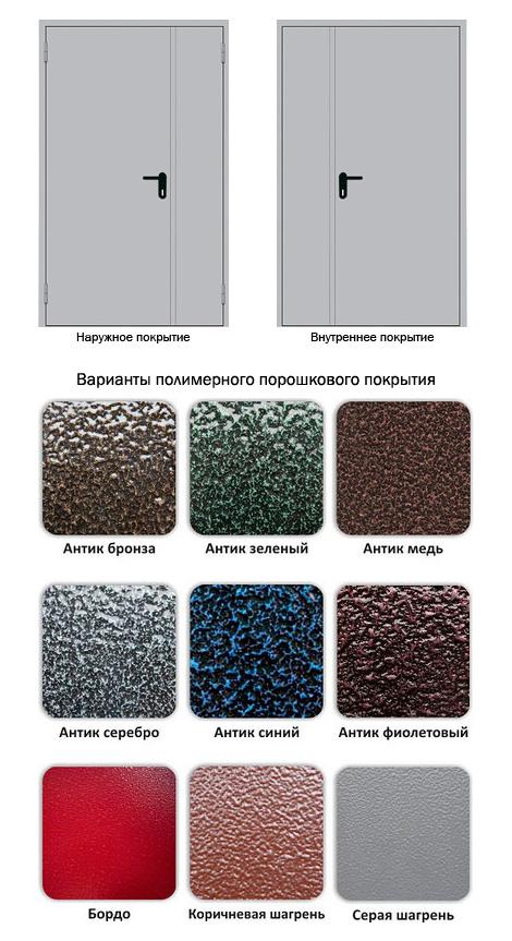 полимерное покрытие металлической двери стоимость